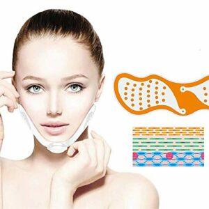 NINGXUE Appareil de Massage Facial, EMS Lifting du Visage, équipement de beauté pour Le Visage raffermissant enlèvement de la Peau, Visage Double Menton V