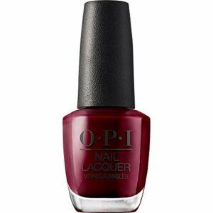OPI – Vernis à Ongles – Nail Lacquer – Nuances de Rouge – Malaga Wine – Qualité professionnelle – 15 ml