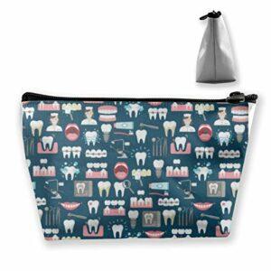 Sac de rangement portable pour la clinique dentaire, le bureau, le maquillage, le train de voyage