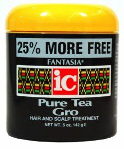 soin pour cheveux défrisé pure tea gro – fantasia ic