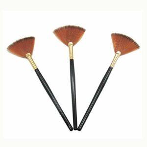 Sourcingmap Lot de 3 brosses pour visage avec applicateur d'acide pour gommage et masques