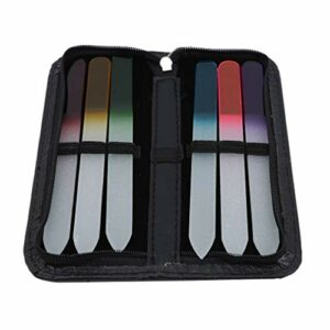 Sperrins 6pcs remplaçables outils de clouage de bande de ponçage en acier inoxydable pour polir les ongles