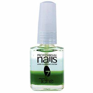 Tahe – Professional Nails – Base à l´huile hydratante pour ongles qui se dédoublent, hypoallergénique, n°7, 15ml