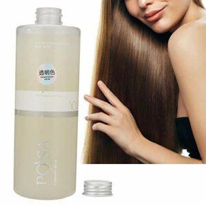Teinture pour les cheveux, style à la mode professionnel coloration des cheveux teinture cire boue coloration des cheveux crème cheveux épilation à la pâte pour salon (Transparent)