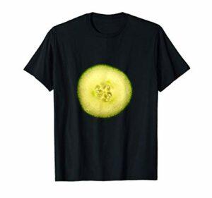 Traitement des yeux au Spa Cucumber Slice T-Shirt