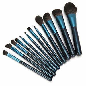 Uxsiya Pinceau de Fond de Teint Professionnel Brosse cosmétique Brosse de Poudre de Cheveux pour Brosse à lèvres pour Salon pour correcteur pour sourcil