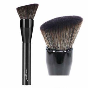 vela.yue Pinceau Visage – Multifonctionnel Pinceaux de Maquillage pour Formules Liquides et Poudre