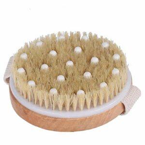 Wet Body Dry brosse à poils doux Exfoliant Corps Massage douche corps Brosse Scrubber pour les accessoires cellulite Lymphatique Beauté