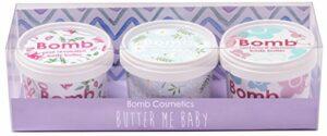 3 soins corporels fait main Bomb Cosmetics Butter Me Baby 3 x 110 ml