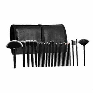 32pcs / set de maquillage professionnel brosse cosmétiques Set Brosses Outils de maquillage Fournitures de maquillage avec étui Outils de maquillage