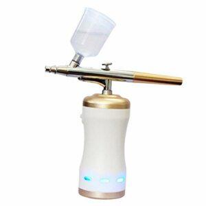 Almencla Soin Des Cheveux de Peinture électrique Domestique de Pistolet de Pulvérisation de Lumière Bleue de Vapeur de Nano Sans Fil