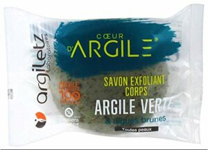 Argiletz Savon Exfoliant Corps Argile Verte 100 g