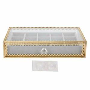 Boîte de rangement compacte de 15 grilles de maquillage cosmétique boîte de rangement d'art d'ongle pour les amateurs d'art d'ongle pour l'affichage d'art d'ongle pour le salon d'ongle à
