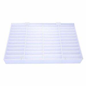 Boîte de rangement pour ongles vides, boîte de rangement transparente pour décoration d'ongles