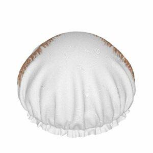 Bonnet de douche, moderne et élégant pour cils – Double couche imperméable – Protection des cheveux – EVA – Réutilisable et réglable