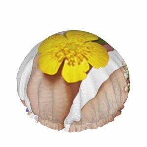 Bonnet de douche réutilisable pour femme, beau ongles, étanche, pour salon de beauté, spa, bain