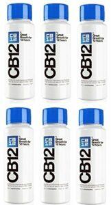 CB12 250ML PACK 6 Menthe / Menthol Bain de bouche