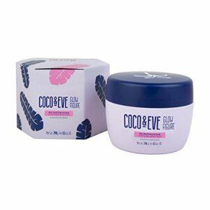 Coco & Eve Sucre exfoliant de Bali Glow – peeling pour le corps pour femme   scrub au sucre et à la noix de coco (240 g)