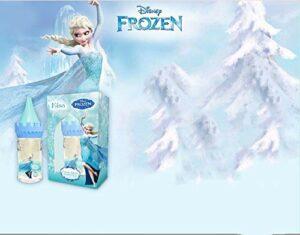 Congelés Idée Cadeau Elsa Château Gel douche Soins du corps 50 ml