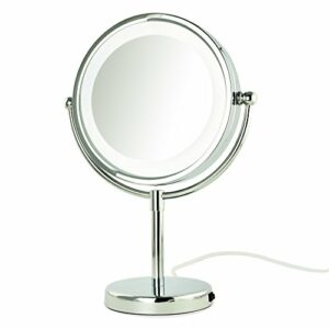 Desktop double-face LED maquillage miroir 8,5-inch maison maquillage hôtel fournitures