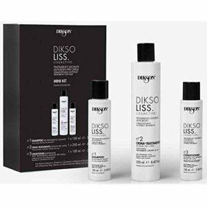 Diksoliss Lissage Brésilien traitement pour les cheveux bouclés ou frisé soin qui lisse les cheveux , kit de lissage professionnel
