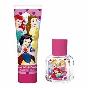 Disney Princess Coffret de Bain avec Gel Douche/Eau de Toilette 1 Unité