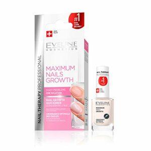 Eveline Cosmetics Soin accélérateur de croissance d'ongles – 12 ml