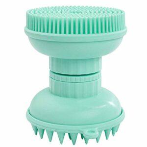 Fascigirl Brosse à Main en Silicone 3 en 1 Brosse à Shampooing pour Cheveux Détachable Brosse De Gommage Au Gel De Silice