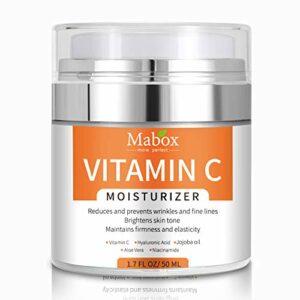 Fesjoy Crème hydratante anti-âge et anti-rides à la vitamine C pour hydrater le visage et le corpshydratant pour le visage