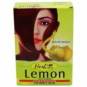 HESH – Poudre de Citron – Tonique illumine le teint – Permet de nettoyer la peau en profondeur.
