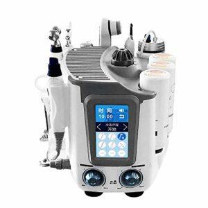 Instrument de beauté de soins de peau 6 en 1, machine de station thermale de station thermale thermale de peau de visage de bulle d'hydrogène, hydratant facial de solvant de ride de pores