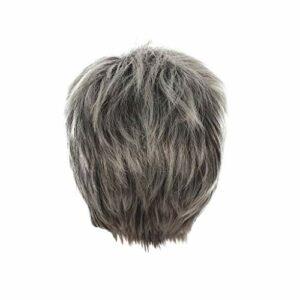 Koojawind Perruque Courte SynthéTique OnduléE De Cheveux De La Mode FéMinine Pleine Perruque, Dame Naturelle Courte Perruque OnduléE De Bob Humen Cheveux BoucléS Perruques SynthéTiques
