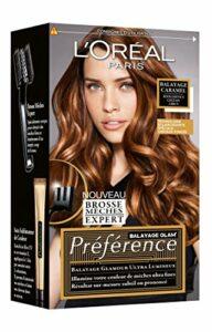 L'Oréal Paris Balayage caramel pour cheveux châtains à bruns – La boîte de 174ml