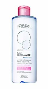 L'Oréal Paris – Eau Micellaire – Peaux Sèches et Sensibles – 400 mL