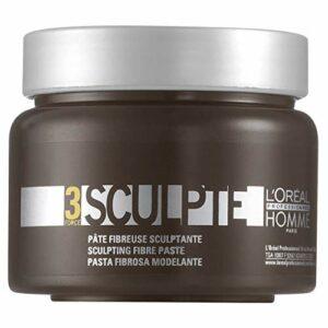 L'Oréal Professionnel – Pâte Fibreuse Sculptante pour Cheveux – Sculpte – 150 ml