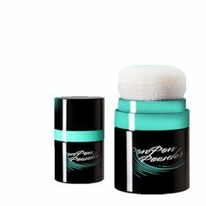 Lurrose Poudre grasse de traitement de cheveux de Fuffy de poudre sèche de cheveux avec le souffle de poudre