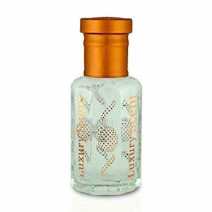 Luxury Scent Huile essentielle de luxe pour le corps parfum Amber Musk soyeux, fruité et floral 6ml