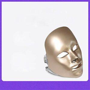 Masque De Beauté À Sept Couleurs Blanchissant La Couleur Du Spectre LED Masque De Beauté Instrument Masque Masque De Beauté À Domicile, Peau Raffermissante Anti-Âge Pour Améliorer Les Ridules