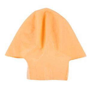 MILISTEN 2 Pcs Casquettes Chauve Latex Chauve Casquette pour Adultes Maquillage Tête Chauve Perruque Casquette Costume Accessoire