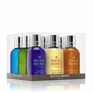 Molton Brown Coffret cadeau 9 pièces gel douche