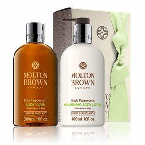 Molton Brown Noir Poivres Gel Douche Et Lotion Coffret Cadeau