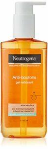 Neutrogena Gel Nettoyant Visage, Soin visage Anti-Boutons, 1 Flacon Pompe de 200ml