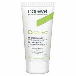 Noreva Exfoliac Soin Anti-Imperfections Crème de Jour Teinté Clair 30 ml