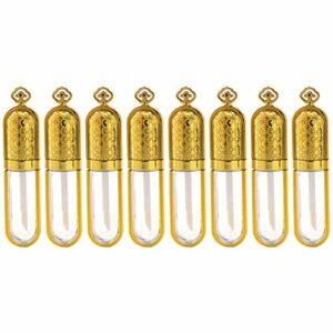Pixnor 10Pcs Bouteilles de Brillant à Lèvres 5 Ml Tubes Dhuile pour Les Lèvres