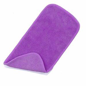 Ponacat Chiffon de Démaquillage en Microfibre Serviette de Nettoyage Douce pour Le Visage Serviette de Nettoyage de Maquillage Réutilisable