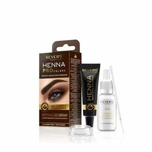 REVERS Henné crémeux pour les sourcils HENNA PRO COLORS 15 ml + 15 ml (3.0 MARRON FONCÉ)