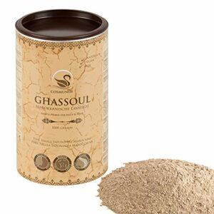 Rhassoul – pure poudre d`argile saponifère marocaine 1 kg – soins naturels pour la peau et les cheveux & masque ou peeling pur corps et visage