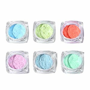 SDENSHI Poudre de Paillettes Brillant Paillettes Poussière Poudre pour Ongles en Gel UV, Ongles en Acrylique, Ongles Naturels