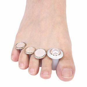 Séparateur d'orteils de pédicure facile, séparateur d'orteils de pédicure simple et élégant, évitez de serrer le magasin de salon pour le salon de beauté de magasin de(MY-05)