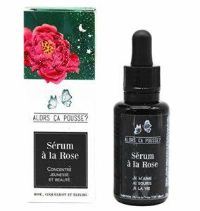 Sérum à la rose, concentré jeunesse et beauté